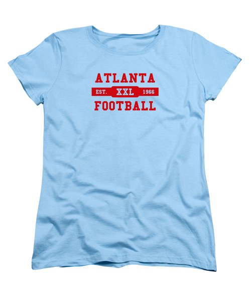 Falcons Retro Shirt Women's T-Shirt (Standard Cut) by Joe Hamilton
