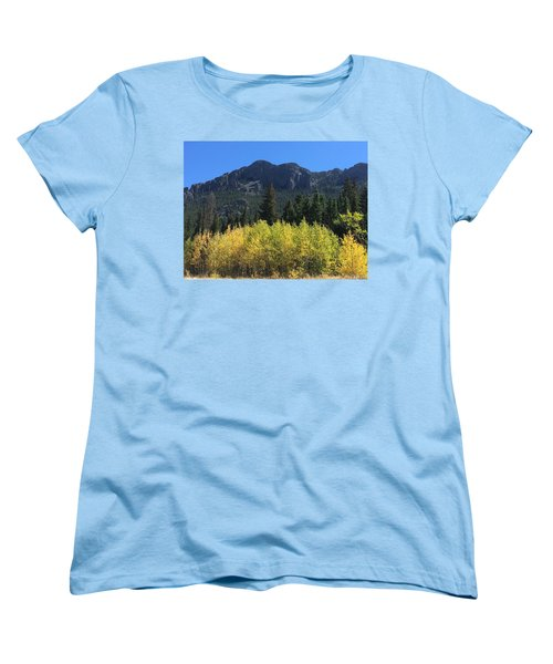 Fall At Twin Sisters Women's T-Shirt (Standard Cut)