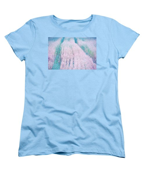 Women's T-Shirt (Standard Cut) featuring the photograph Fall Field by Ari Salmela