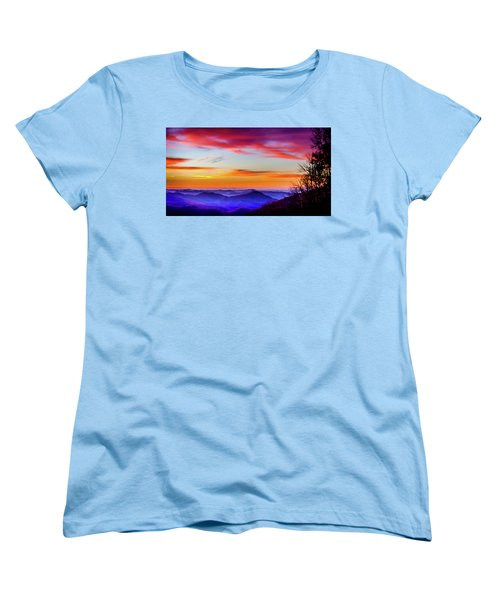 Women's T-Shirt (Standard Cut) featuring the photograph Fall On Your Knees by Karen Wiles