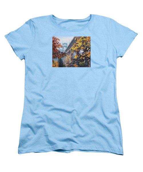Fall St Johns Women's T-Shirt (Standard Cut)
