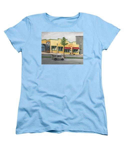 Falls Church Women's T-Shirt (Standard Cut) by Victoria Lakes