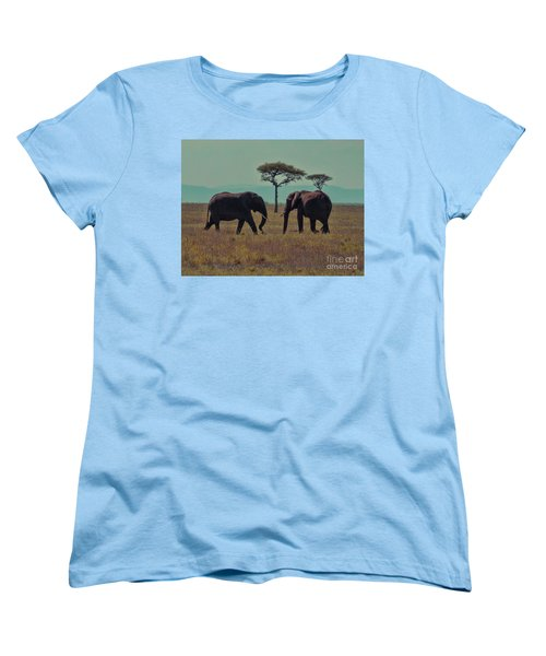 Family Women's T-Shirt (Standard Cut) by Karen Lewis