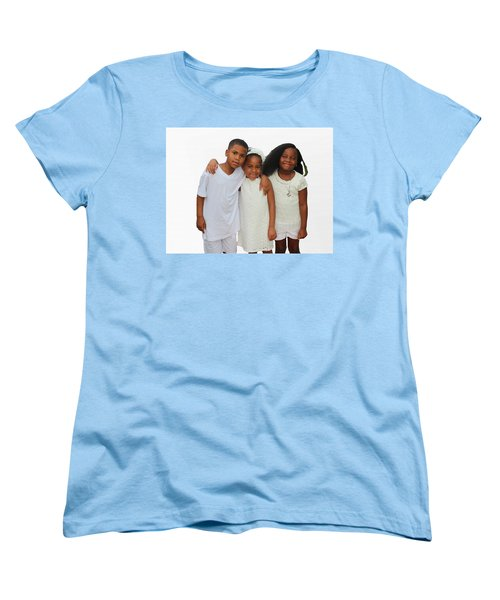 Family Love Women's T-Shirt (Standard Cut) by Audrey Robillard