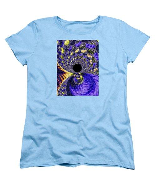 Women's T-Shirt (Standard Cut) featuring the photograph Fantastical Fractal Journey by Ronda Broatch