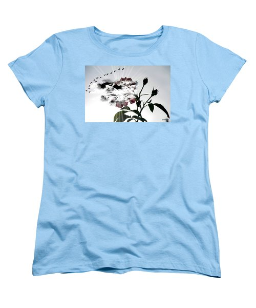 Far Beyond What Eyes Can See Women's T-Shirt (Standard Cut) by Paulo Zerbato