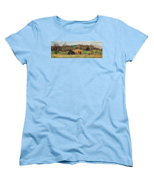 Farm Country Women's T-Shirt (Standard Cut) by Bonnie Mason