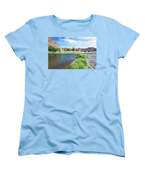 Farmland Along John Day River Women's T-Shirt (Standard Fit)