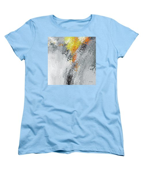 Farther Along. John 13 7 Women's T-Shirt (Standard Cut) by Mark Lawrence