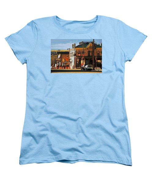 Fat Daddy's Women's T-Shirt (Standard Cut) by David Blank