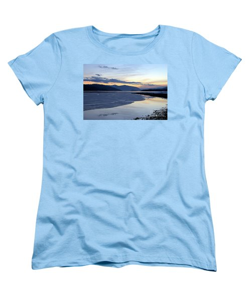 February At Dusk 5 Women's T-Shirt (Standard Cut) by Victor K
