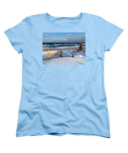 February Delight Women's T-Shirt (Standard Cut) by Dianne Cowen