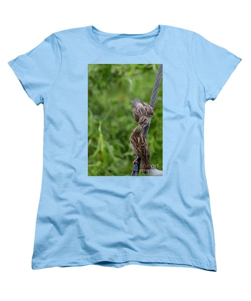 Women's T-Shirt (Standard Cut) featuring the photograph Feeding Time by Brian Roscorla