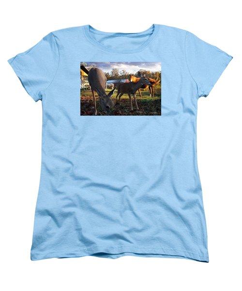 Feeling At Home Women's T-Shirt (Standard Cut) by Bill Stephens