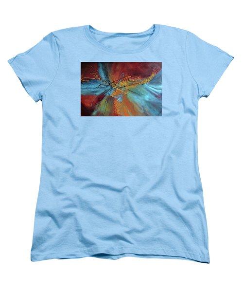 Feeling Free Women's T-Shirt (Standard Cut) by Roberta Rotunda