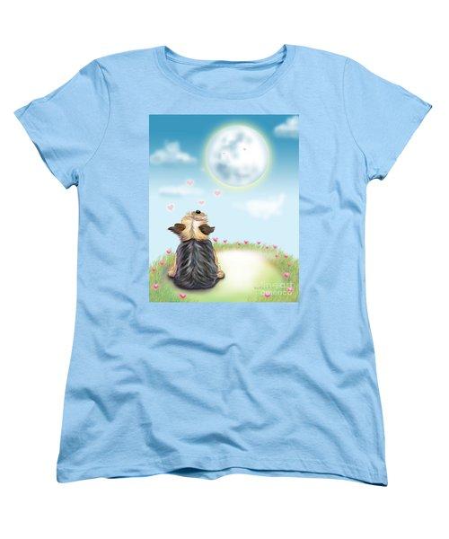 Feeling Love Women's T-Shirt (Standard Cut) by Catia Cho
