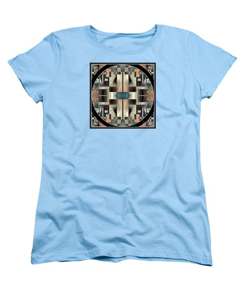 Female Abstraction Image Five Women's T-Shirt (Standard Cut) by Jack Dillhunt