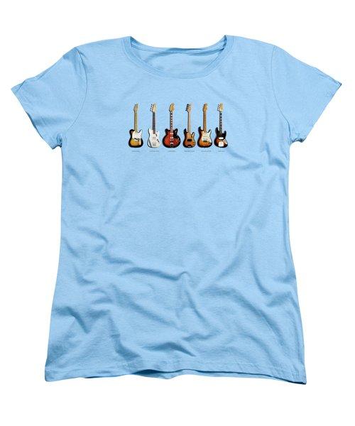 Fender Guitar Collection Women's T-Shirt (Standard Fit)