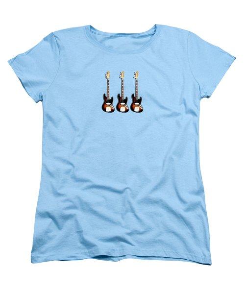Fender Jazzbass 74 Women's T-Shirt (Standard Cut)