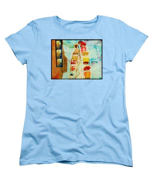 Ferris Wheel Fun Women's T-Shirt (Standard Cut) by Toni Hopper
