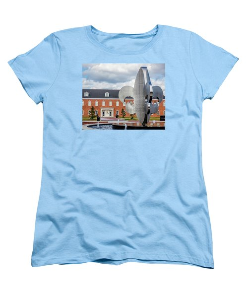 Women's T-Shirt (Standard Cut) featuring the photograph Fg Mouton Hall 02 by Gregory Daley  PPSA