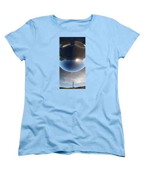 Final Frontier Women's T-Shirt (Standard Cut) by Paul Moss