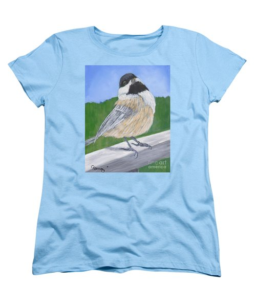 Finch Women's T-Shirt (Standard Cut) by Patricia Cleasby