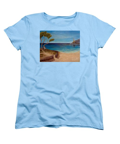 Finding My Special Place In The Summertime  Women's T-Shirt (Standard Cut) by Kimberlee Baxter