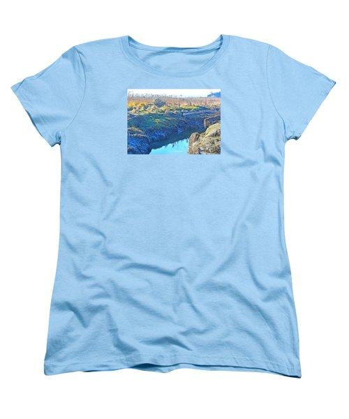 Fir Island November Women's T-Shirt (Standard Cut) by Tobeimean Peter