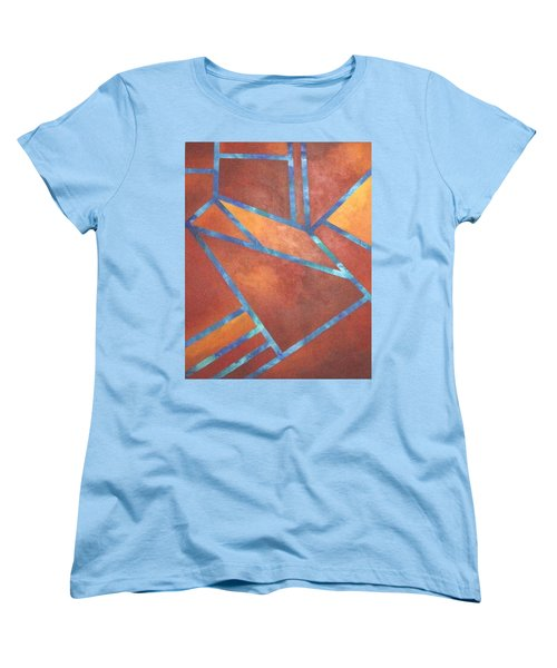 Fire From The Sky Women's T-Shirt (Standard Cut) by Bernard Goodman