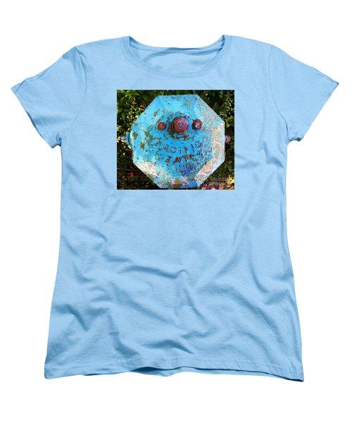 Fire Hydrant #3 Women's T-Shirt (Standard Cut) by Suzanne Lorenz