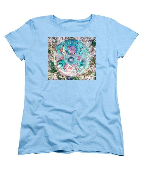 Fire Hydrant #5 Women's T-Shirt (Standard Cut) by Suzanne Lorenz