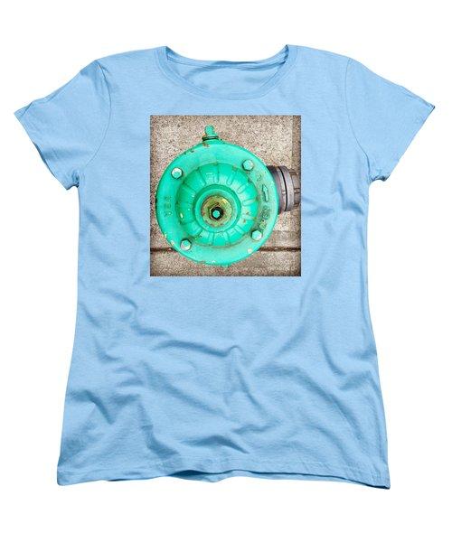 Fire Hydrant #6 Women's T-Shirt (Standard Cut) by Suzanne Lorenz
