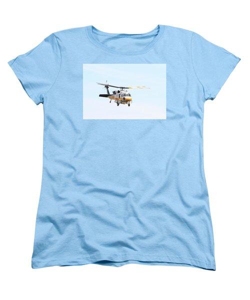 Firehawk In Flight Women's T-Shirt (Standard Cut) by Shoal Hollingsworth