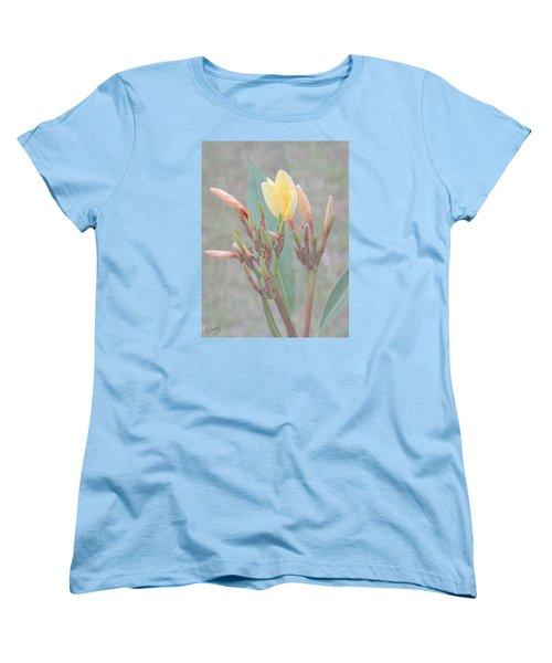 First Bud Women's T-Shirt (Standard Cut) by Rosalie Scanlon