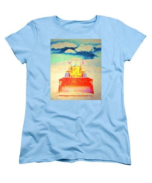 Women's T-Shirt (Standard Cut) featuring the photograph First In  by Mark Ross