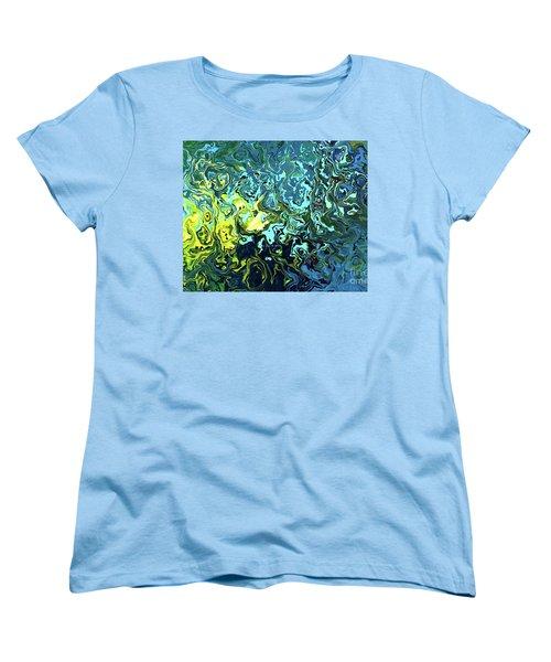 Fish Abstract Art Women's T-Shirt (Standard Cut)