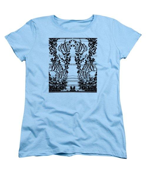 Fish Tank - Fish Tank Tee Shirt Women's T-Shirt (Standard Cut) by rd Erickson