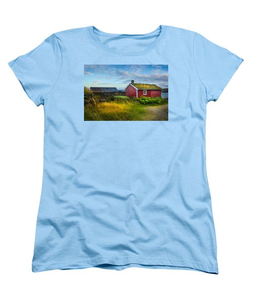 Fisherman House Women's T-Shirt (Standard Cut) by Maciej Markiewicz