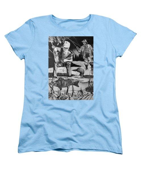 Fishing Vacation Women's T-Shirt (Standard Cut) by Bruce Bley