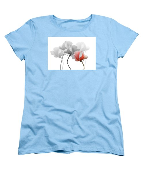 Five Roses Women's T-Shirt (Standard Cut) by Rosalie Scanlon