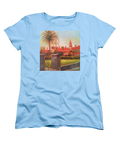 Flagler College Women's T-Shirt (Standard Cut) by Mary Hubley