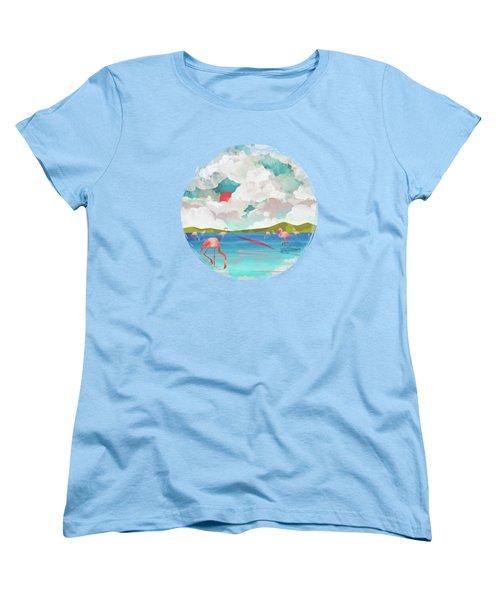 Flamingo Dream Women's T-Shirt (Standard Cut)