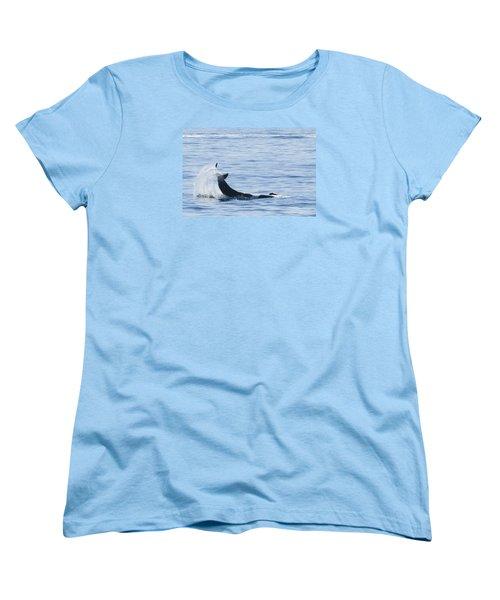 Flipping Off Women's T-Shirt (Standard Cut) by Harold Piskiel
