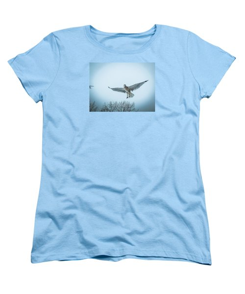 Women's T-Shirt (Standard Cut) featuring the photograph Floating On Hope  by Glenn Feron