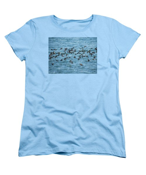 Flock Of Birds Women's T-Shirt (Standard Cut) by Trace Kittrell
