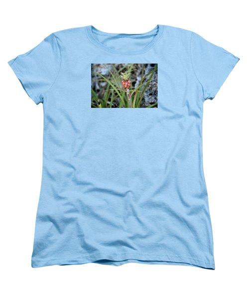 Flor Pina Women's T-Shirt (Standard Cut) by Edgar Torres