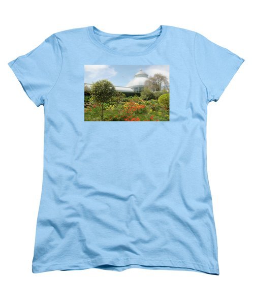 Women's T-Shirt (Standard Cut) featuring the photograph Floral Notes by Diana Angstadt