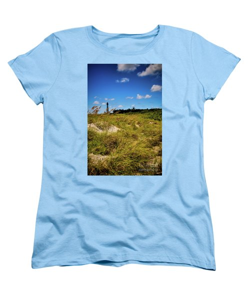Women's T-Shirt (Standard Cut) featuring the photograph Florida Lighthouse  by Kelly Wade