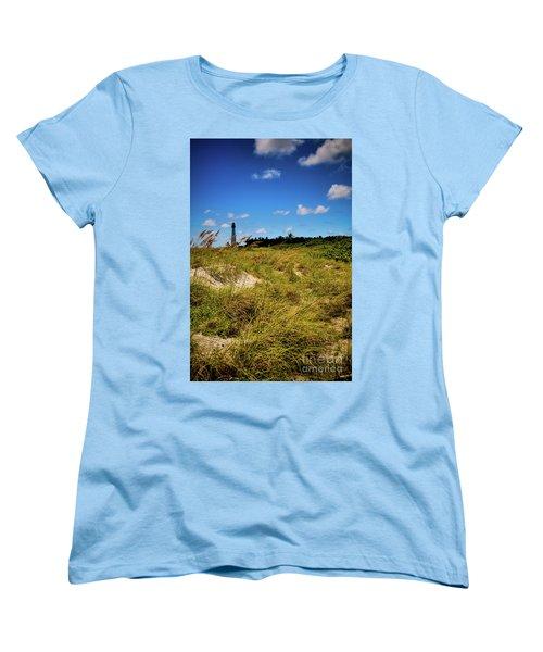 Florida Lighthouse  Women's T-Shirt (Standard Cut) by Kelly Wade